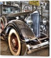 Al Capone's Packard Canvas Print