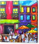 Al Fresco Canvas Print