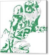 Al Horford Boston Celtics Pixel Art 5 Canvas Print