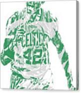Al Horford Boston Celtics Pixel Art 7 Canvas Print