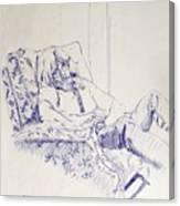 Al-Studying Canvas Print