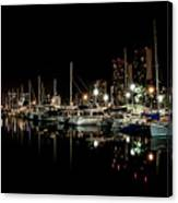 Ala Wai Boat Harbor II Canvas Print