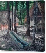 Alabama Creek Indian Village Canvas Print