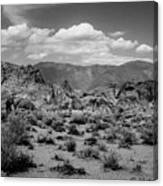 Alabama Hills Canvas Print