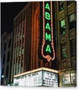 Alabama Theater Canvas Print