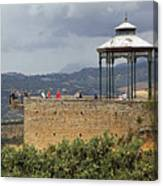 Alameda De Jose Antonio In Ronda Spain Canvas Print