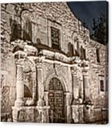 Alamo Door Canvas Print