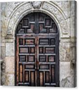 Alamo Doors Canvas Print