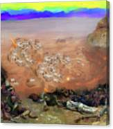 Alamo Frontiersmen Canvas Print