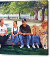 Alamo Pilgrims Canvas Print