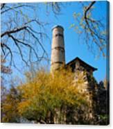 Alamo Portland Cement Factory II Canvas Print