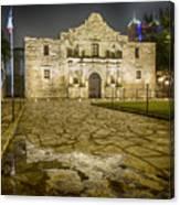 Alamo Reflection Canvas Print