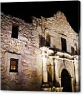 Alamo Remembrance Canvas Print