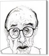 Alan Greenspan Canvas Print