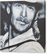 Alan Jackson - In The Real World Canvas Print