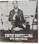 Alan Youth Hostelling Chris Eubank Canvas Print