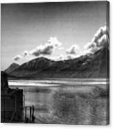 Alaska Black  Canvas Print