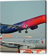 Alaska Boeing 737-900 N493as More To Love Phoenix Sky Harbor October 27 2017 Canvas Print