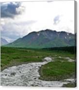 Alaska Denali National Park Landscape 1 Canvas Print