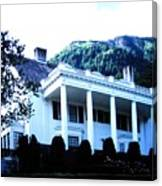 Alaska Governors Mansion Canvas Print