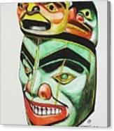 Alaska Masks Canvas Print