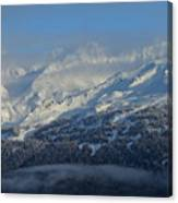 Alaska Mountain View Canvas Print