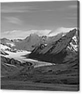 Alaska Range Center Panel Canvas Print