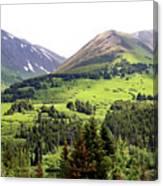 Alaska Scenery II Canvas Print