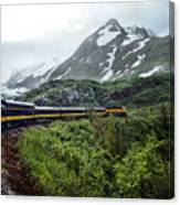 Alaska Train Canvas Print