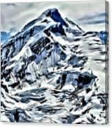 Alaska Volcano Canvas Print