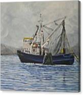 Alaskan Fishing Canvas Print