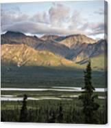 Alaskan Glacial Valley Canvas Print