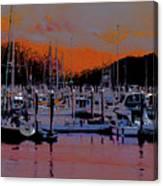 Alaskan Harbor 8 Canvas Print