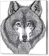 Alaskan Husky Canvas Print