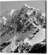 Alaskan Peak Canvas Print