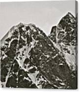 Alaskan Peaks Canvas Print