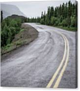 Alaskan Road Canvas Print