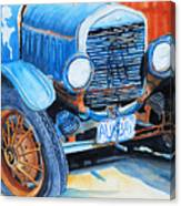 Alaskan Rust II - Model T '27 Canvas Print