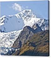 Alaskan Snowtop Canvas Print
