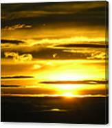 Alaskan Sunset Canvas Print