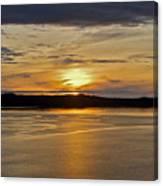 Alaskan Sunset Canvas Print
