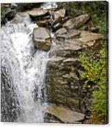 Alaskan Water Fall Canvas Print