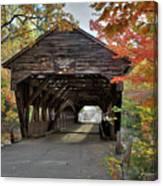 Albany Covered Bridge Canvas Print