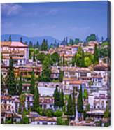 Albayzin View Granada Canvas Print