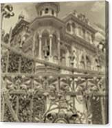 Albert Chamas Villa Canvas Print