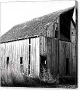 Albert City Barn 3 Canvas Print