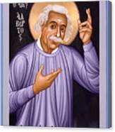 Albert Einstein  Scientist, Humanitarian, Mystic - Rlabe Canvas Print