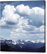 Alberta Mountain Panorama Canvas Print