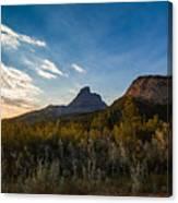 Alberta Sunrise Canvas Print