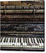 Albrecht Company Piano Canvas Print